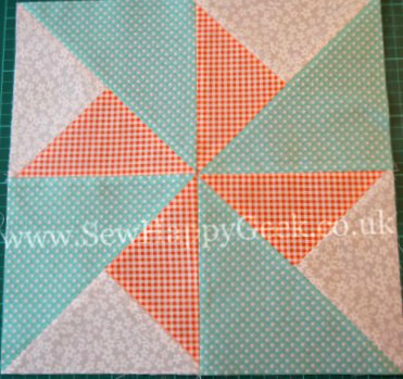 Double Pinwheel Quilt Blocks