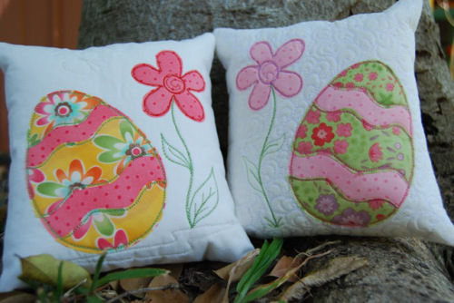 Easter Cushions Allfreesewing Com