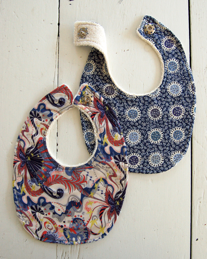Soft Patterned Baby Bibs Allfreesewing Com