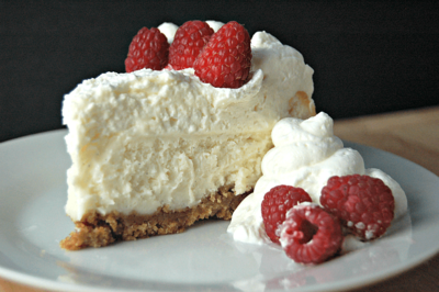 Just like Cheesecake Factory's Vanilla Bean Cheesecake
