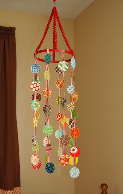 Polka Dots Crib Mobile