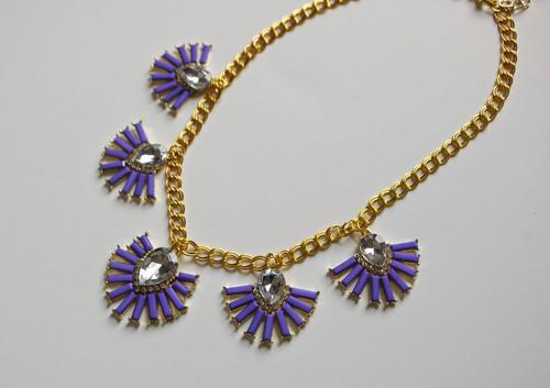 diy neon statement necklace - photo #25