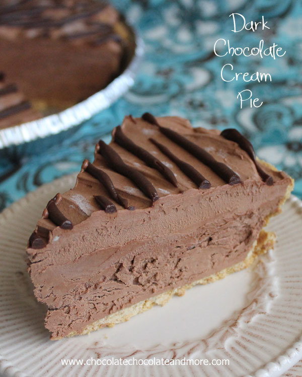 Dark Chocolate Cream Pie Thebestdessertrecipes Com