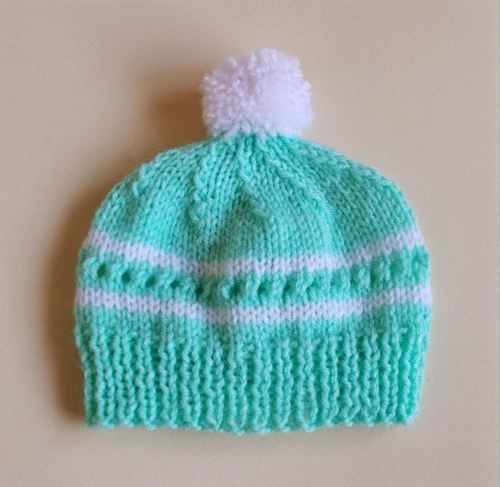 Essential Knit Hat Pattern AllFreeKnitting.com