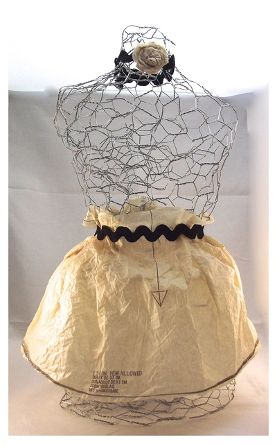 chicken wire mannequin diy home decor favecrafts com home decor handicraft lantern made of white wire tjc