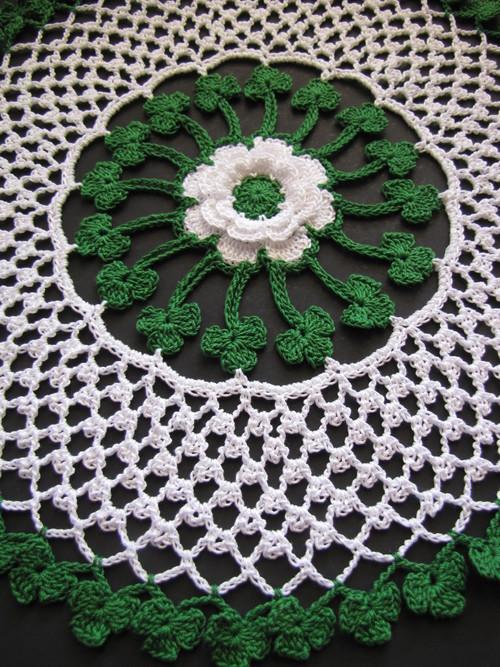 Irish Blessings Crochet Doily Allfreecrochet Com