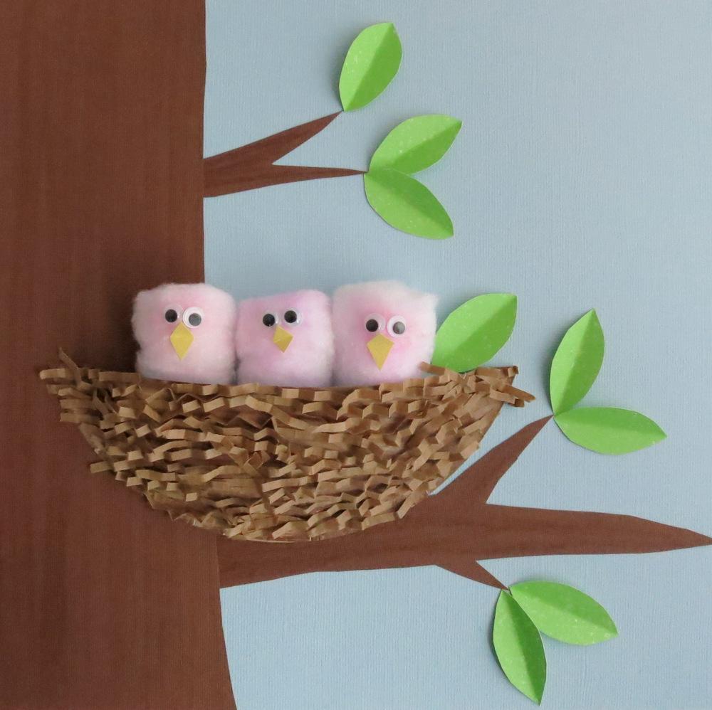 Fluffy Nesting Chicks Favecrafts Com