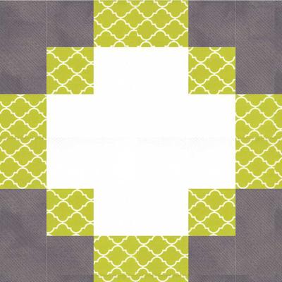 Antique modern quilt block pattern for Modern house quilt pattern