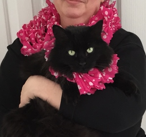 Kitty and Me Scarves DIY Craft Project