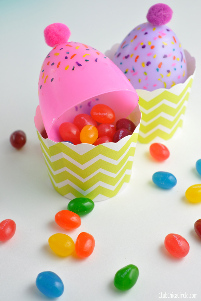 Plastic Easter Egg Cupcakes Allfreekidscrafts Com