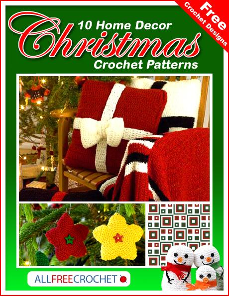 10 Home Decor Christmas Crochet Patterns