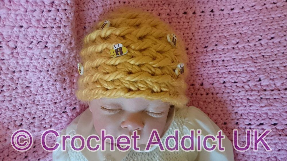 Beehive crochet pattern, crochet bees, crochet hive, crochet ...   563x1000