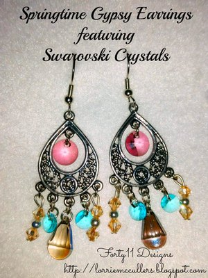 Springtime Gypsy Earrings