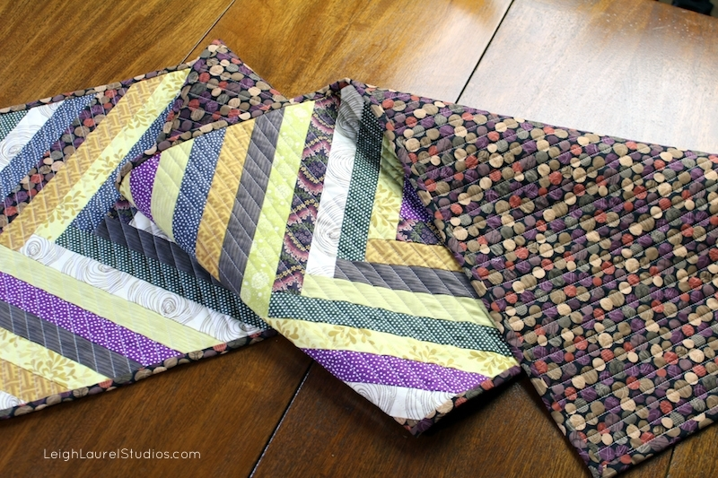 Herringbone Table Runner Favequilts Com