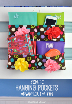 Bedside Hanging Storage Pockets