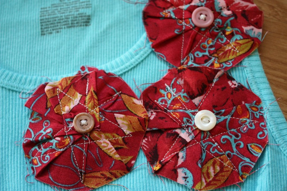 Flower Embellishment Tutorial Allfreesewing Com