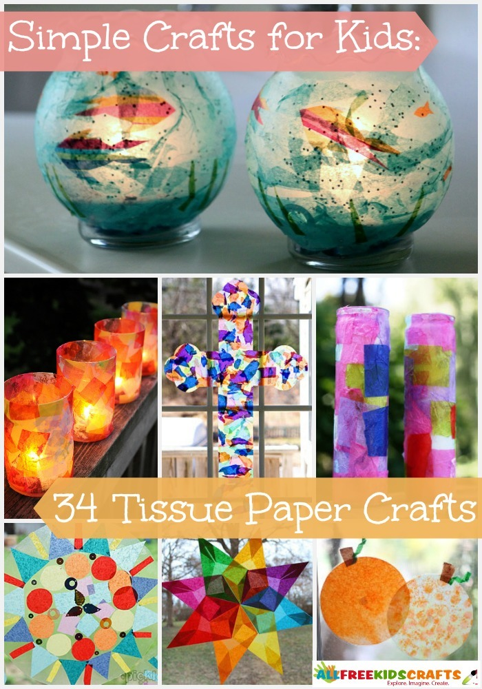 Simple Crafts for Kids 34 Tissue