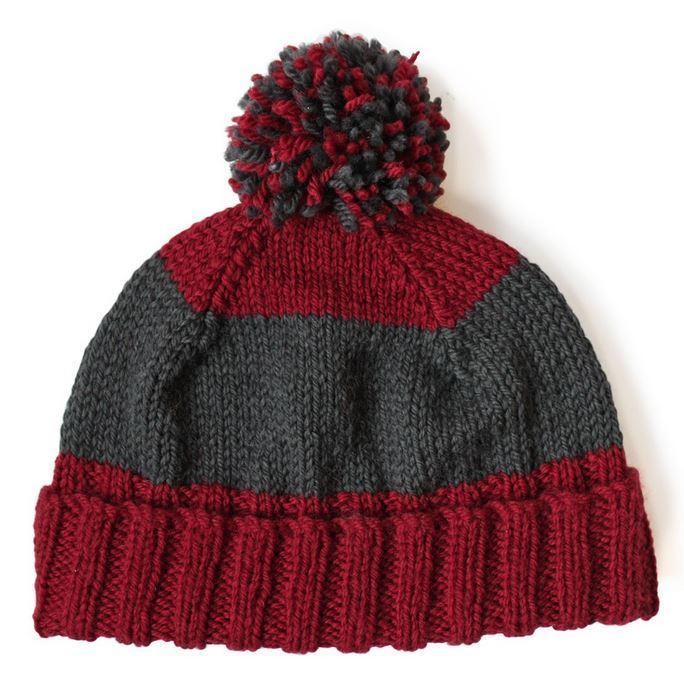 Dads Knit Hat Pattern AllFreeKnitting.com