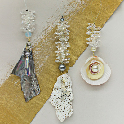 Mermaid Trinket Dangle DIY Pendants