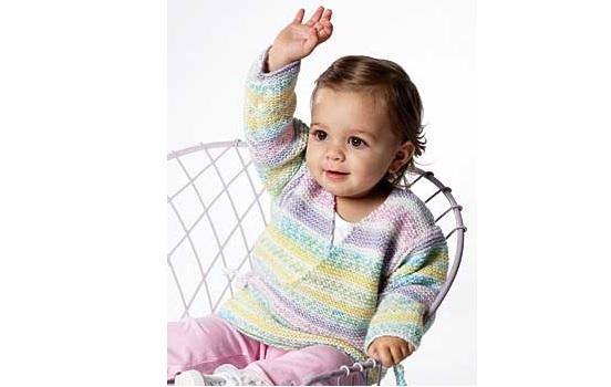 396f38d87 Beginner Knit Baby Kimono