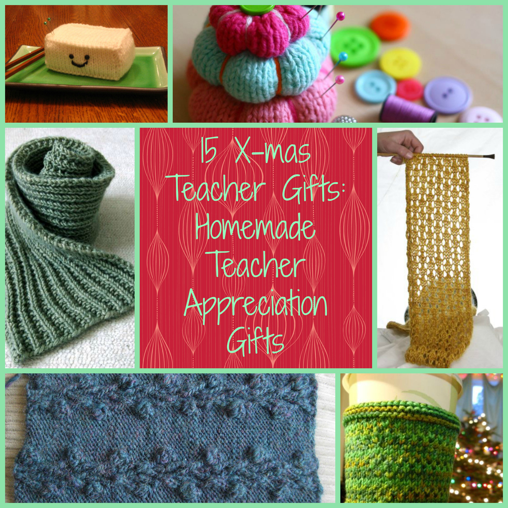 15 Xmas Teacher Gifts: Homemade Teacher Appreciation Gifts