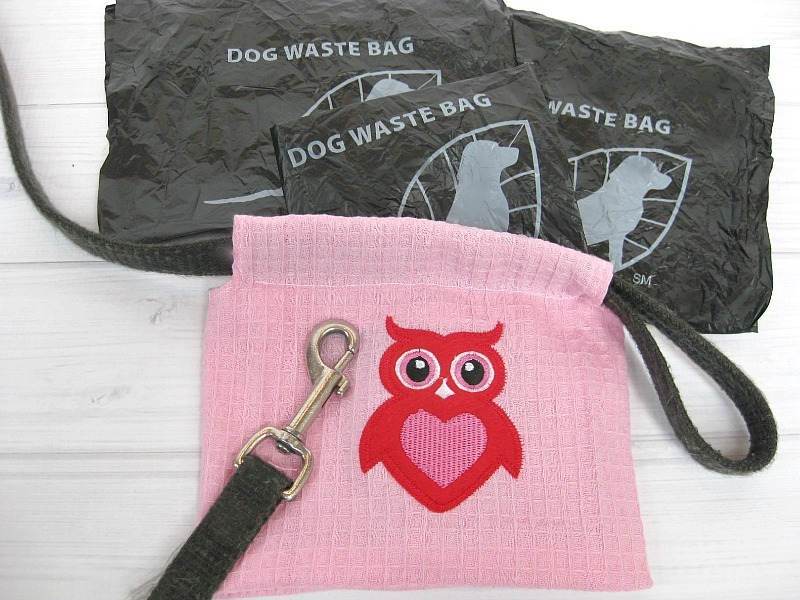 Dog Waste Bag Holder Free Sewing Pattern Favecrafts Com