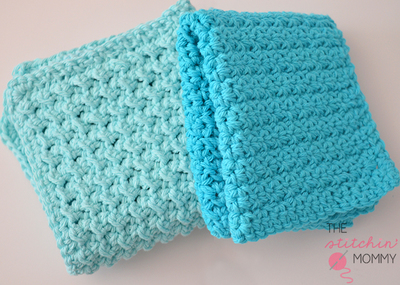 Crochet Easy Beginner Patterns : Textured Washcloth Easy Crochet Pattern FaveCrafts.com