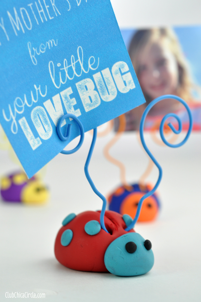 Love Bug Diy Picture Holder Allfreekidscrafts Com
