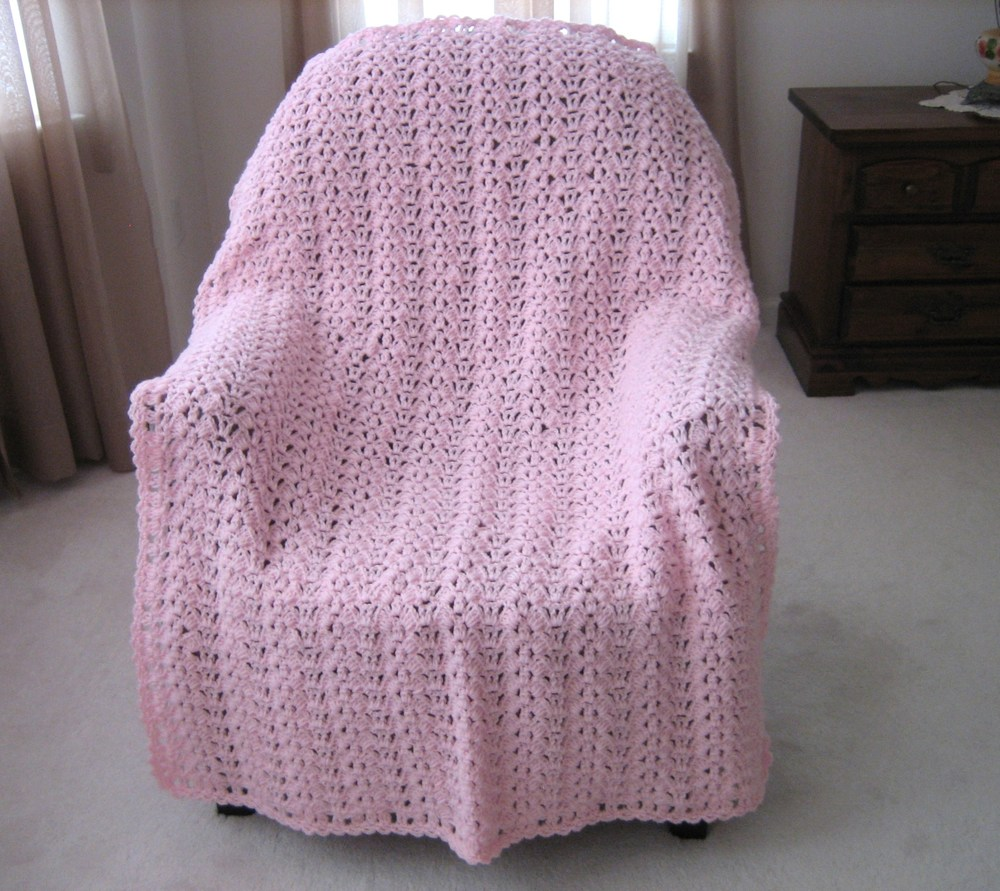Butterfly Wings Free Crochet Afghan Pattern Favecrafts Com