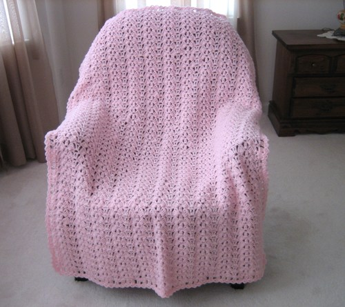 Butterfly Wings Free Crochet Afghan Pattern