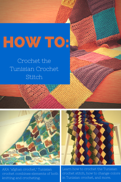 How to Crochet the Tunisian Stitch  26 Easy Patterns