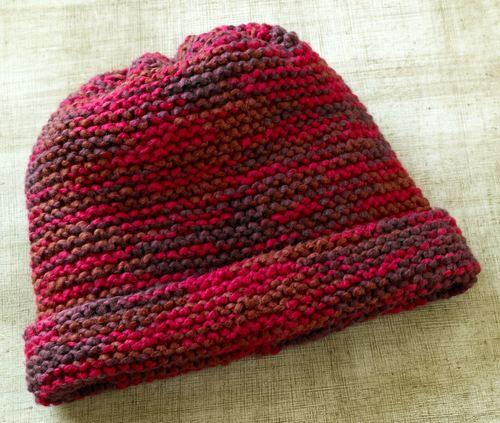 Knitting Lifeline Garter Stitch : Grandma s favorite garter stitch hat allfreeknitting