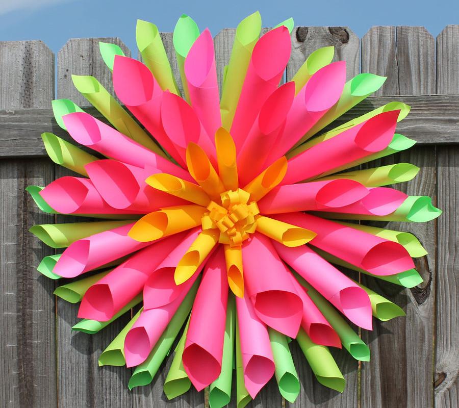 Make a Paper Dahlia Flower | DIY Network Blog: Made + Remade | DIY | 800x900