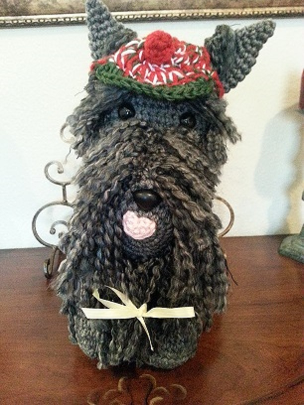 Scottish Terrier Dog Crochet Amigurumi