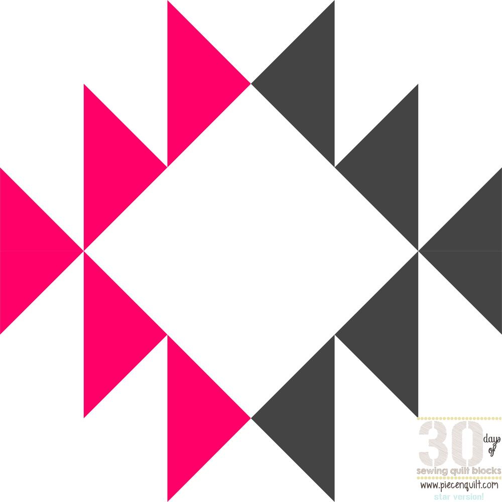 Navajo Star Quilt Block Pattern Favequilts Com