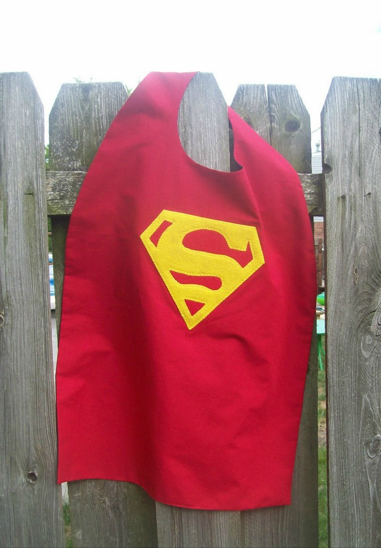 Superhero cape pattern for Superhero lollipop cape template