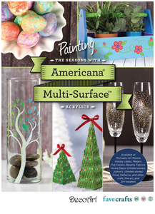 """Painting the Seasons with Americana Multi-Surface Acrylics"" free eBook from DecoArt"