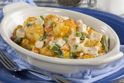 Country-Style Potato Tot Casserole