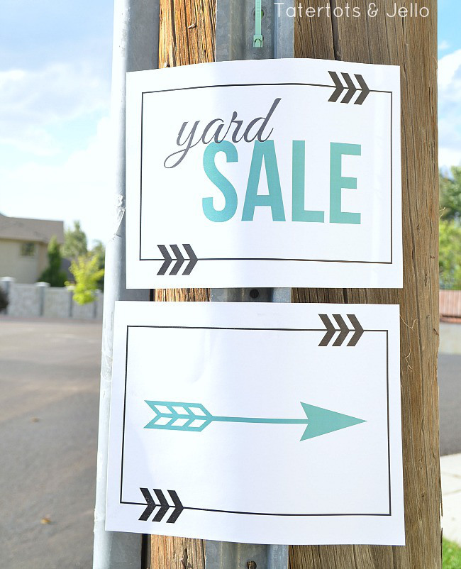 This is an image of Bewitching Free Garage Sale Printables