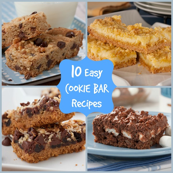 10 easy cookie bar recipes for Food network 50 bar cookie recipes