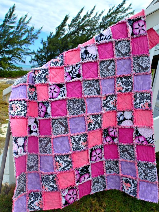 Adorable Rag Quilt Allfreesewing Com