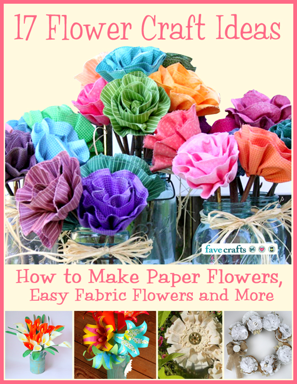 17 Flower Craft Ideas How To Make Paper Flowers Easy