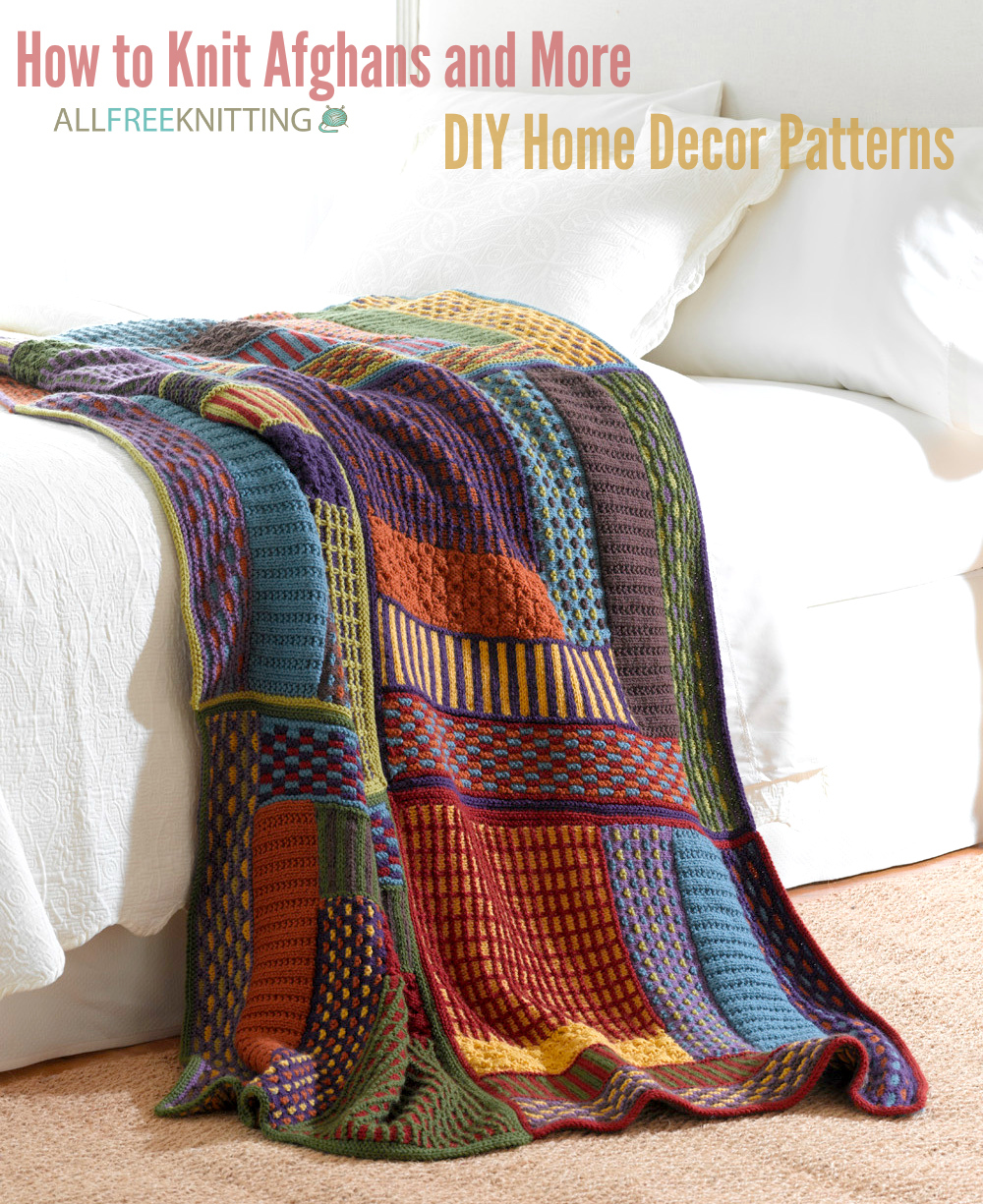 626ac56d0bcb How to Knit Afghans and More  300 DIY Home Decor Patterns ...