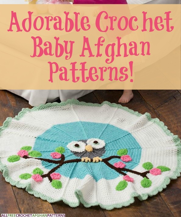 Baby Afghan Patterns To Crochet : 27 Adorable Crochet Baby Afghan Patterns ...