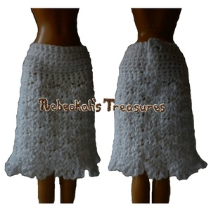 Doll Crochet Skirt Pattern
