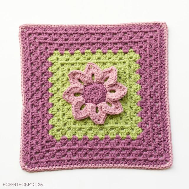 Lily Pad Granny Square Crochet Pattern Favecrafts Com