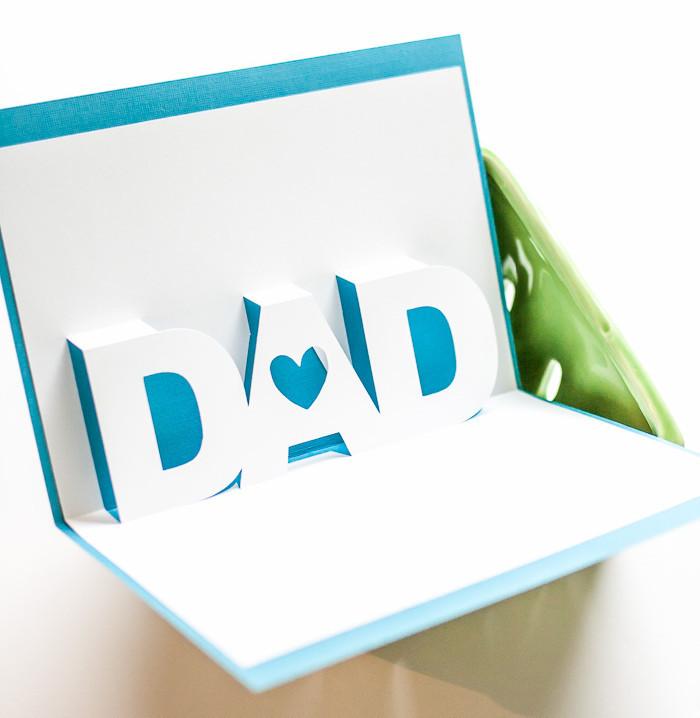 Father S Day 3d Card Allfreepapercrafts Com