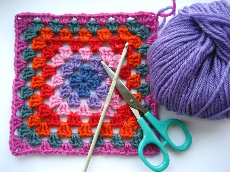 Classic Granny Blanket Crochet Edging Allfreecrochet Com