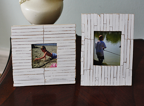 Cottage Slat Picture Frame