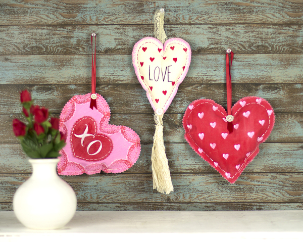 Valentine's Day Pillow Ornaments